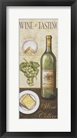 Wine And Cheese II Framed Print