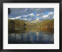 Framed Vista Of Grand Lake, Colorado
