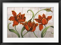 Parrot Tulips Framed Print