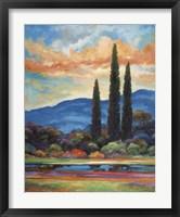 Framed Heart Of Provence