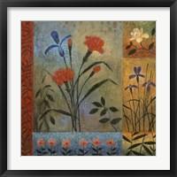 Floral Rhapsody I Framed Print