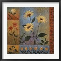 Floral Rhapsody II Framed Print