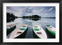 Framed Lake Galve, Trakai Historical National Park, Lithuania I