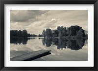 Framed Lake Galve, Trakai Historical National Park, Lithuania V