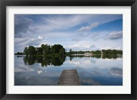 Framed Lake Galve, Trakai Historical National Park, Lithuania VI