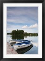 Framed Lake Galve, Trakai Historical National Park, Lithuania VII