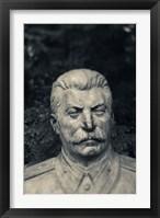 Framed Lithuania, Grutas Park, Statue Joseph Stalin I