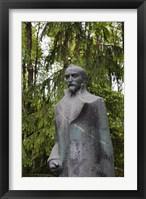 Framed Lithuania, Grutas Park, Statue of Felix Dzezhinsky