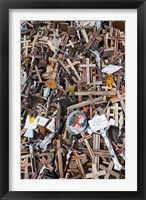 Framed Lithuania, Siauliai, Hill of Crosses, Christianity II