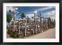 Framed Lithuania, Siauliai, Hill of Crosses, Christianity III