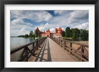 Framed Lithuania, Trakai Historical NP, Island Castle