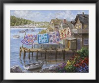 Framed Dock Side Quilts