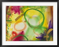 Wind Chimes VI Framed Print