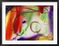 Wind Chimes V Framed Print