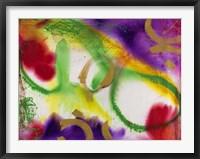 Wind Chimes I Framed Print