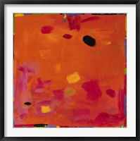 Confetti Iv Framed Print