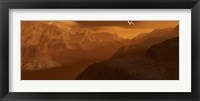 Framed Maxwell Montes Mountain Range on the Planet Venus