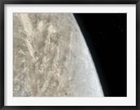 Framed Illustration of the Planet Venus