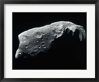 Framed Image of an Asteroid