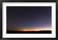Framed Comet Panstarrs IV