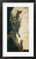 Framed Sappho Falling