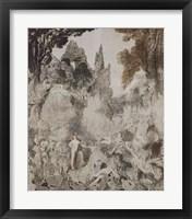 Framed Les Chimeres, 1884
