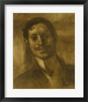 Framed Portrait Of A Man, Said To Be Marcel Proust
