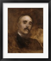 Framed Portrait Of Georges Clemenceau