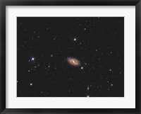 Framed Messier 109, a barred spiral galaxy in the Constellation Ursa Major