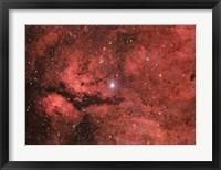 Framed Sadr region in the Constellation Cygnus