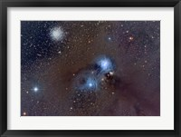 Framed Corona Australis, a Constellation in the Southern Hemisphere
