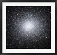 Framed Omega Centauri or NGC 5139 is a globular cluster of stars seen in the Constellation of Centaurus