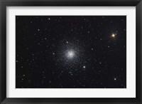 Framed Messier 3, a globular cluster in the Constellation Canes Venatici