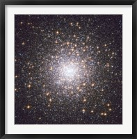 Framed Messier 15, globular cluster in the Constellation Pegasus