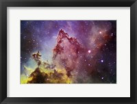 Framed IC1805 Everest of Nebula