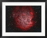 Framed NGC 2174, the Monkey Head Nebula with IC 2159 Nebulosity