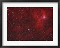 Framed Emission Nebula iin Perseus