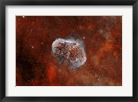 Framed Crescent Nebula with Soap-Bubble Nebula I