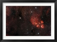 Framed Cat's Paw Nebula in Scorpius