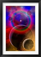 Framed New planets and solar systems forming within a Gaseous Nebula