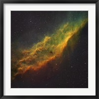 Framed California Nebula III