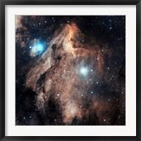 Framed Pelican Nebula III