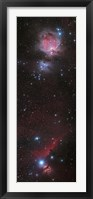 Framed Mosaic of Orion Nebula and Horsehead Nebula