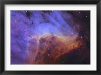 Framed Pelican Nebula I
