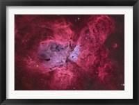 Framed NGC 3372, The Eta Carinae Nebula III