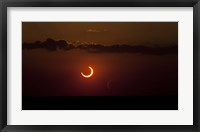 Framed Annular Solar Eclipse