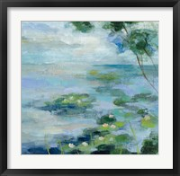 Lily Pond II Framed Print