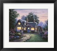 Framed Doucette Cottage