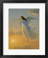 Angel Of The Dawn Framed Print
