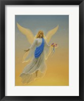 Framed Morning Angel